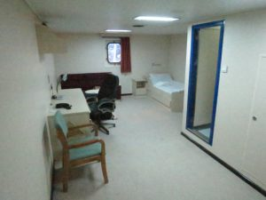 My 'luxury' room? Prison Cell?, Office? Place of Solitude? Maybe all of those...???