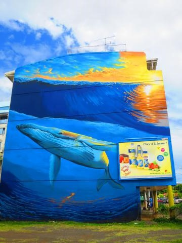 Graffiti Murals: My Papeete Highlight