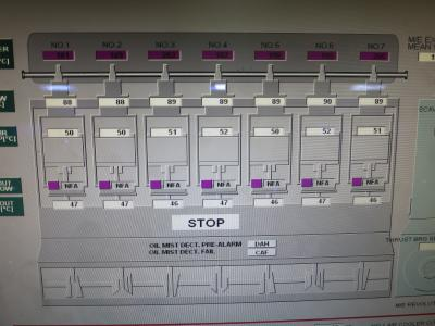 Engine Control Panel says STOP!