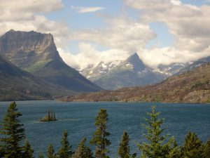 Glacier National Park near the East Gate